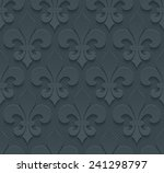 Dark Gray Perforated Paper Wit...