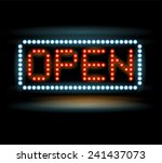 Led Lights Open Sign