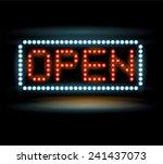 Led Lights Open Sign
