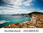 split. view from the tower | Shutterstock . vector #241484533