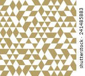geometric  pattern with... | Shutterstock . vector #241485883