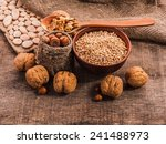 ingredients for the christmas... | Shutterstock . vector #241488973