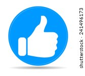 like icon. flat design style... | Shutterstock .eps vector #241496173