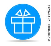 gift box itson   vector icon.... | Shutterstock .eps vector #241496263