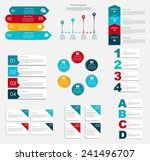 collection of infographic... | Shutterstock .eps vector #241496707