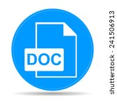file document icon. download... | Shutterstock .eps vector #241506913