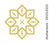 geometric arabic pattern | Shutterstock .eps vector #241515223