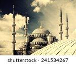 blue mosque  sultanahmet camii  ... | Shutterstock . vector #241534267