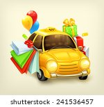 shopping tour vector... | Shutterstock .eps vector #241536457