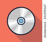 vector cd icon | Shutterstock .eps vector #241559167