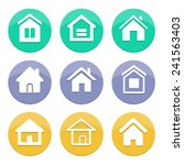 home icon | Shutterstock .eps vector #241563403