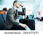 delayed flight | Shutterstock . vector #241577377