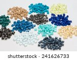 Dyed Plastic Pellets For...