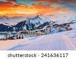 majestic winter sunrise...