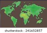 a cartoon illustration of the... | Shutterstock . vector #241652857