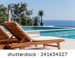 Luxury Swimming Pool And Deck...
