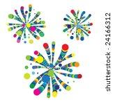 fireworks | Shutterstock .eps vector #24166312