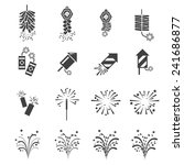 firework  icon set