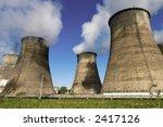 heat electric generating... | Shutterstock . vector #2417126