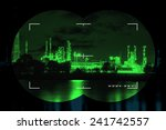 chemical industry the threat of ... | Shutterstock . vector #241742557