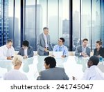 business people conference... | Shutterstock . vector #241745047