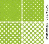 Green Tile Background Vector...
