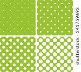 Green Tile Background Vector...
