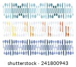 colorful cutlery sets | Shutterstock .eps vector #241800943
