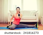 fitness  home  technology and...   Shutterstock . vector #241816273