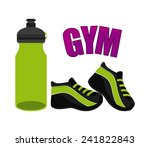 gym icon | Shutterstock .eps vector #241822843
