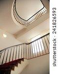 modern spiral staircase | Shutterstock . vector #241826593