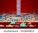 chinese new year reunion.... | Shutterstock .eps vector #241849813