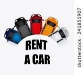 rent a car | Shutterstock .eps vector #241851907