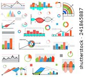 graphics and diagrams for... | Shutterstock .eps vector #241865887