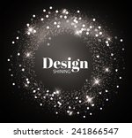 shining retro light circle... | Shutterstock .eps vector #241866547