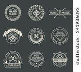 retro design insignias... | Shutterstock .eps vector #241936093