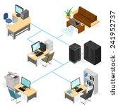 isometric technology... | Shutterstock .eps vector #241952737
