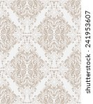 damask seamless floral pattern. ... | Shutterstock .eps vector #241953607