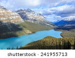 peyto lake in canada | Shutterstock . vector #241955713