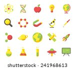 science  modern flat icons | Shutterstock .eps vector #241968613