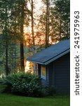 Finnish Sauna Cottage In...