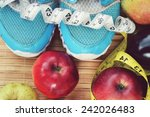 healthy lifestyle concept   Shutterstock . vector #242026483