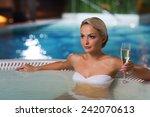 people  beauty  spa  healthy... | Shutterstock . vector #242070613