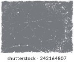 grunge texture.abstract  vector ... | Shutterstock .eps vector #242164807