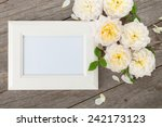 Blank Photo Frame And White...