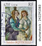 France   Circa 2000  A Stamp...