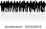 group of people | Shutterstock .eps vector #242316913