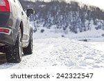 snow tires | Shutterstock . vector #242322547