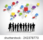 global social networking | Shutterstock .eps vector #242378773
