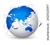 vector illustration of the...   Shutterstock .eps vector #242410597